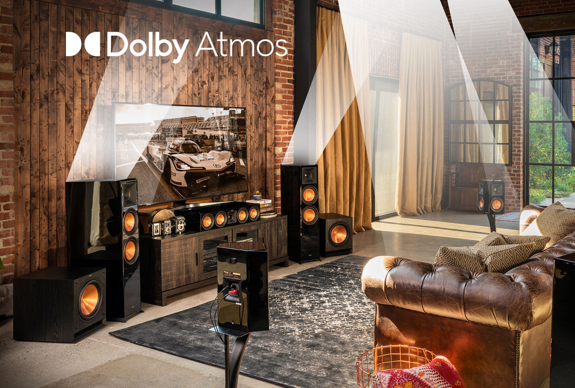 Klipsch Dolby Atmos best home theater speakers