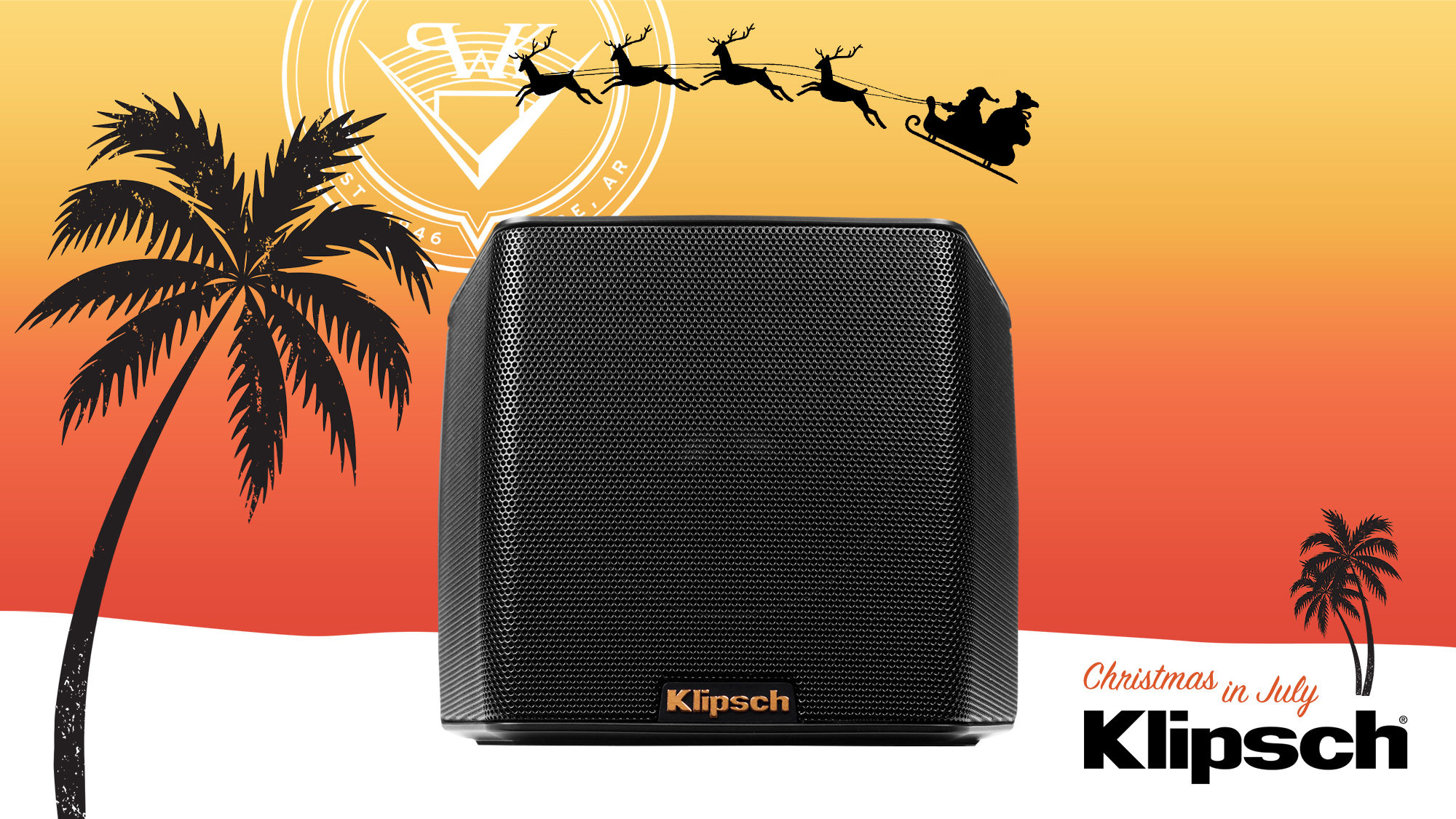 Xmas in July Klipsch Groove