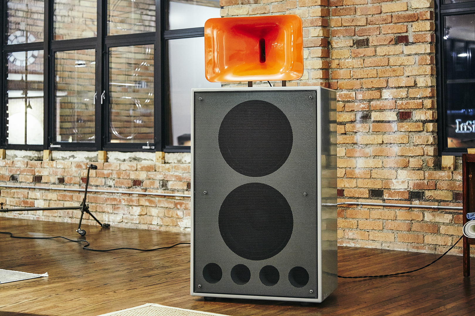 Frankenstein Klipsch Speakers 7 social