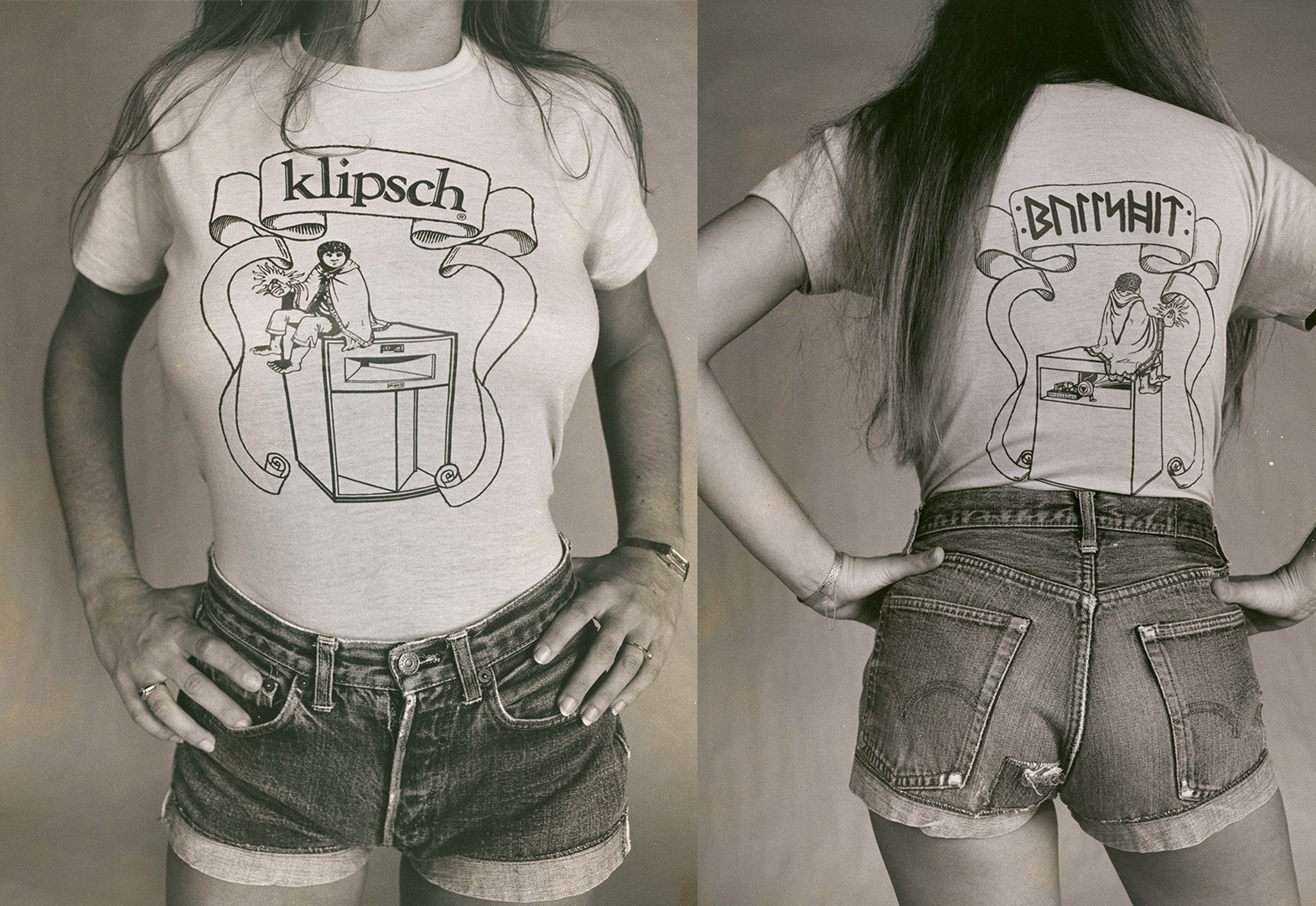 Klipsch Hobbit Shirt Front and Back social