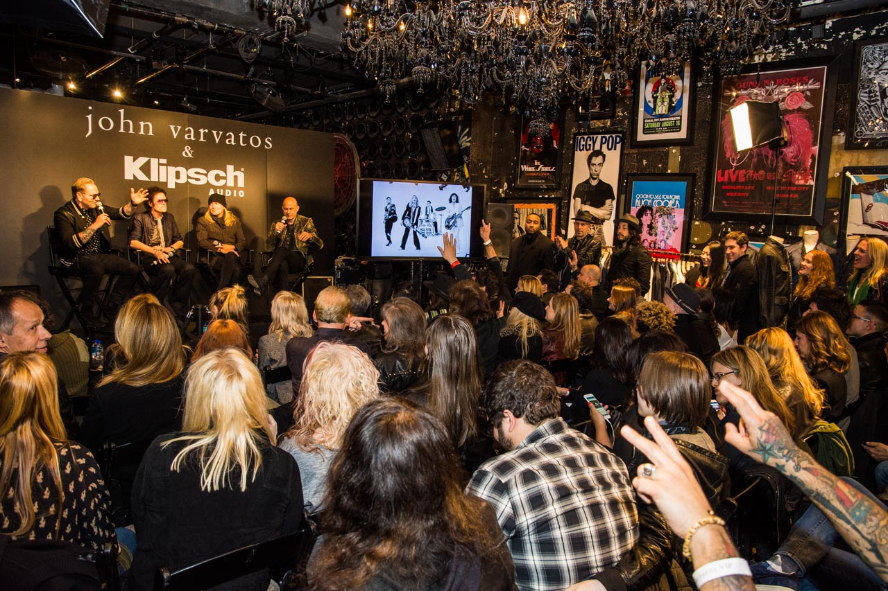 Klipsch Audio Presents Intimate Conversations with John Varvatos
