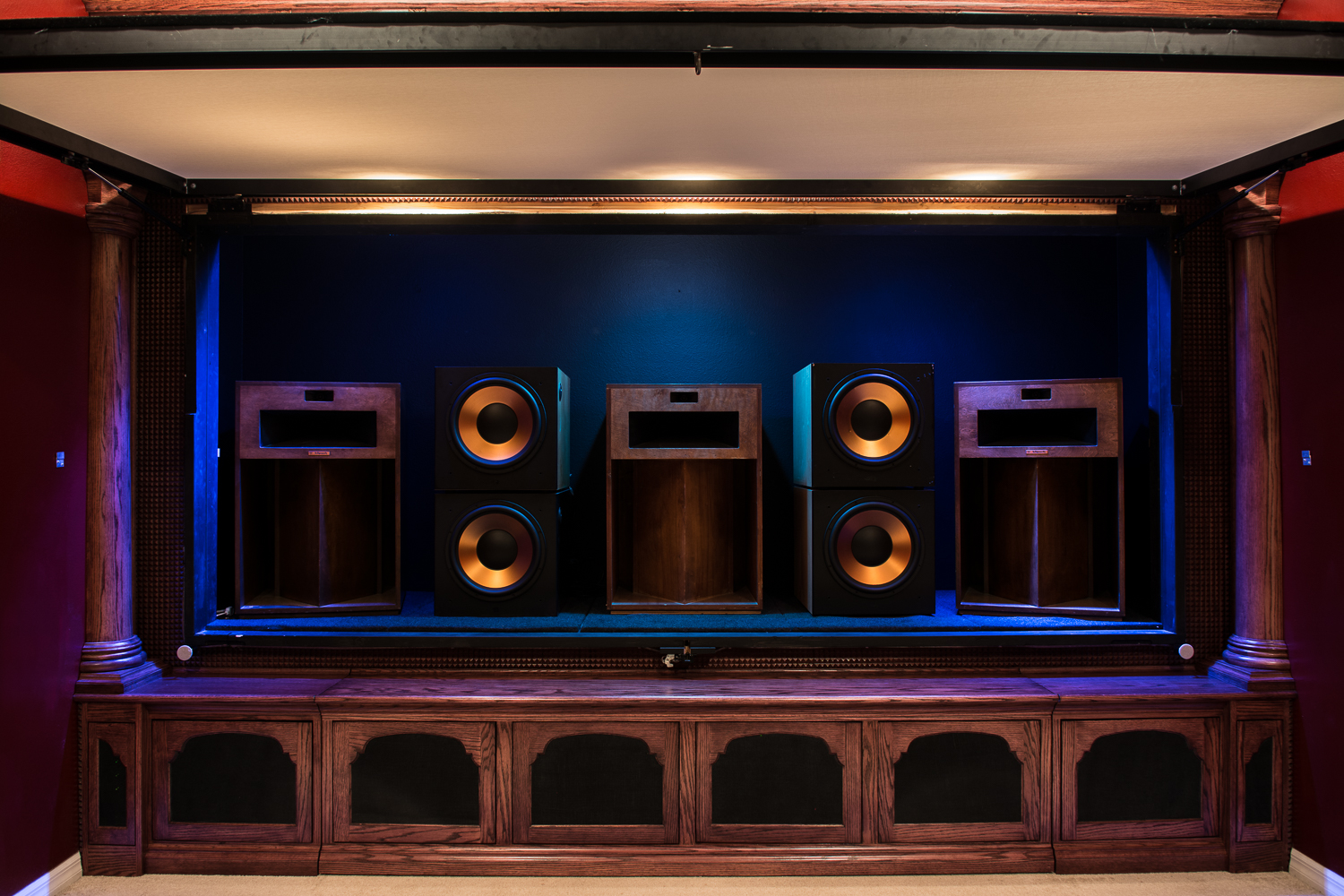 Michael Stevens La Scala Home Theater Build 2