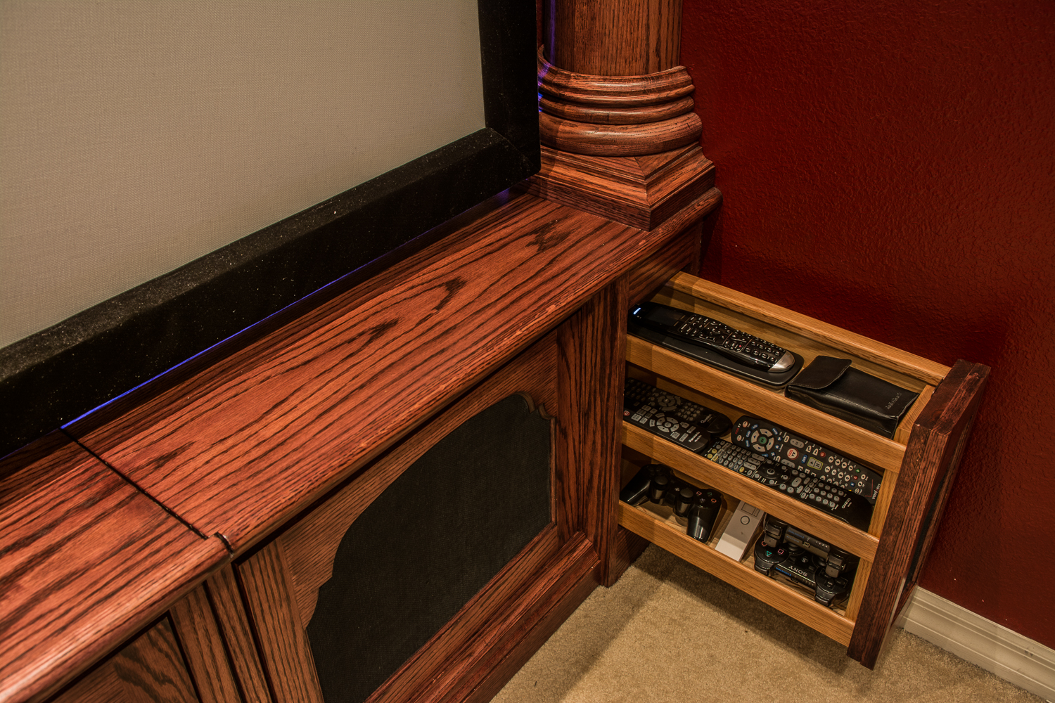 Michael Stevens La Scala Home Theater Build 20