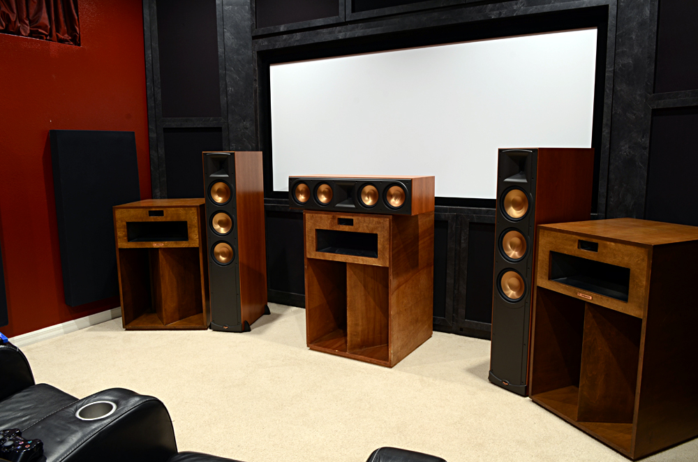 Michael Stevens La Scala Home Theater Build 8