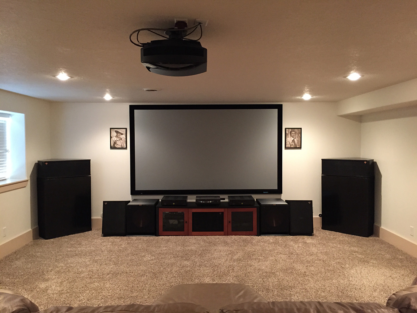 Trent Whitney Home Theater