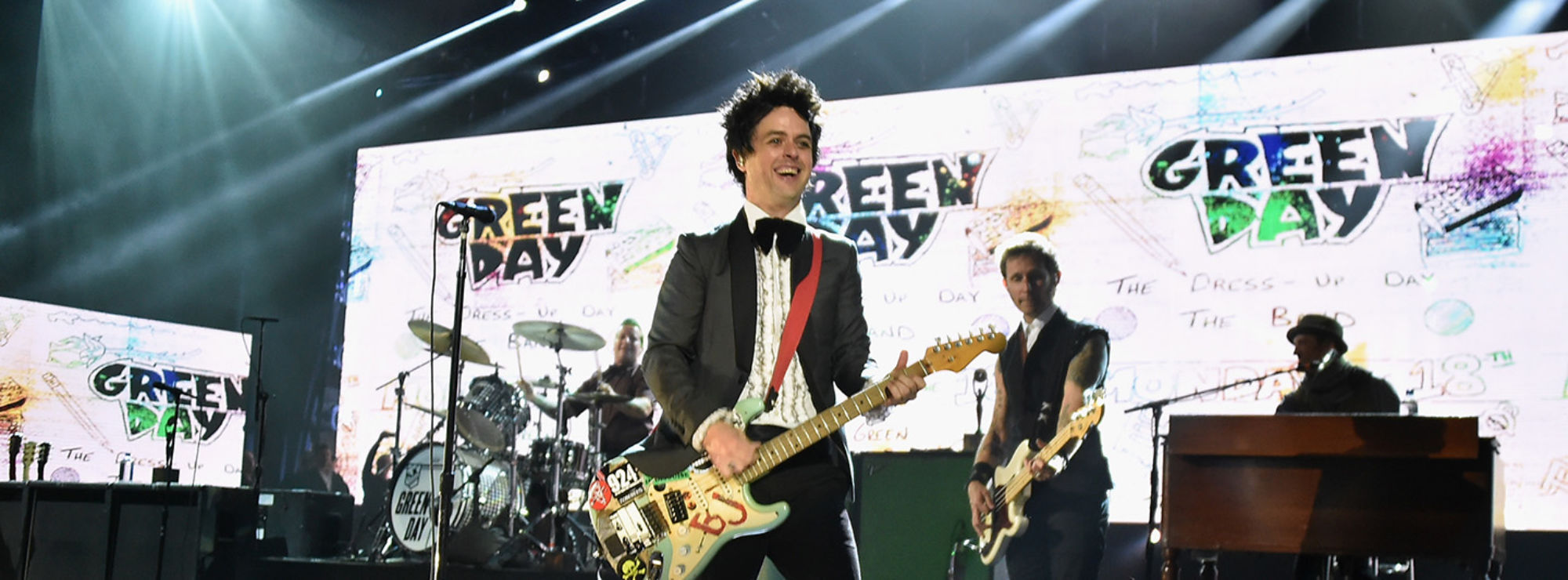 Greenday on stage