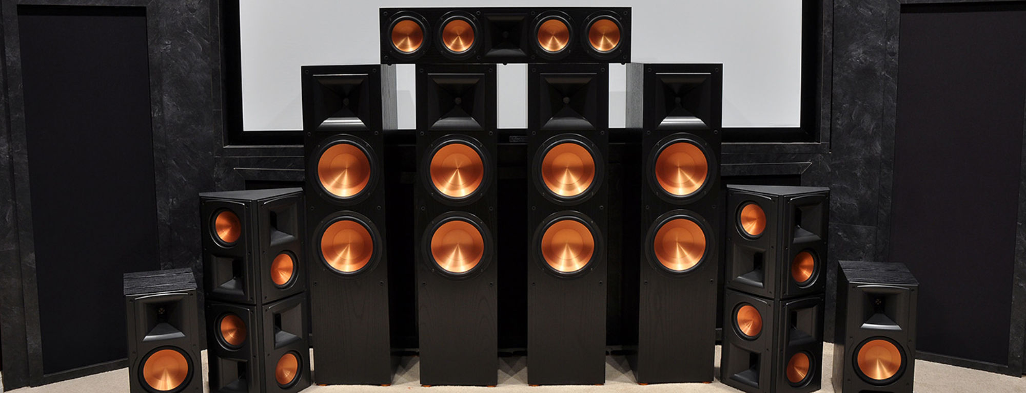Klipsch surround sound system