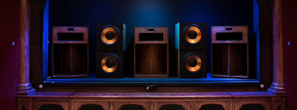Klipsch La Scala Trio Home Theater Room Build