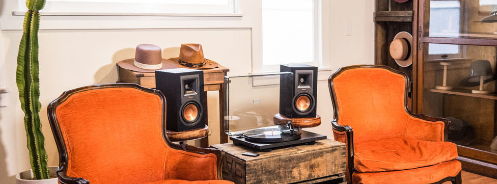 Klipsch Reference R-15PM Powered Monitors: Just Add Vinyl