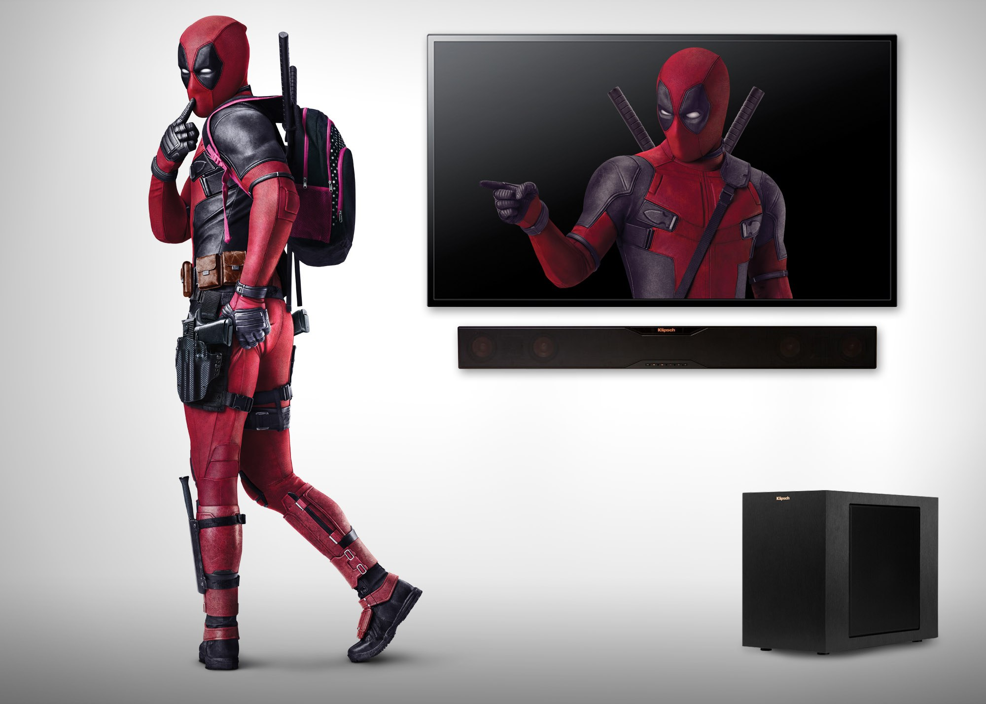 Deadpool Website Soundbar