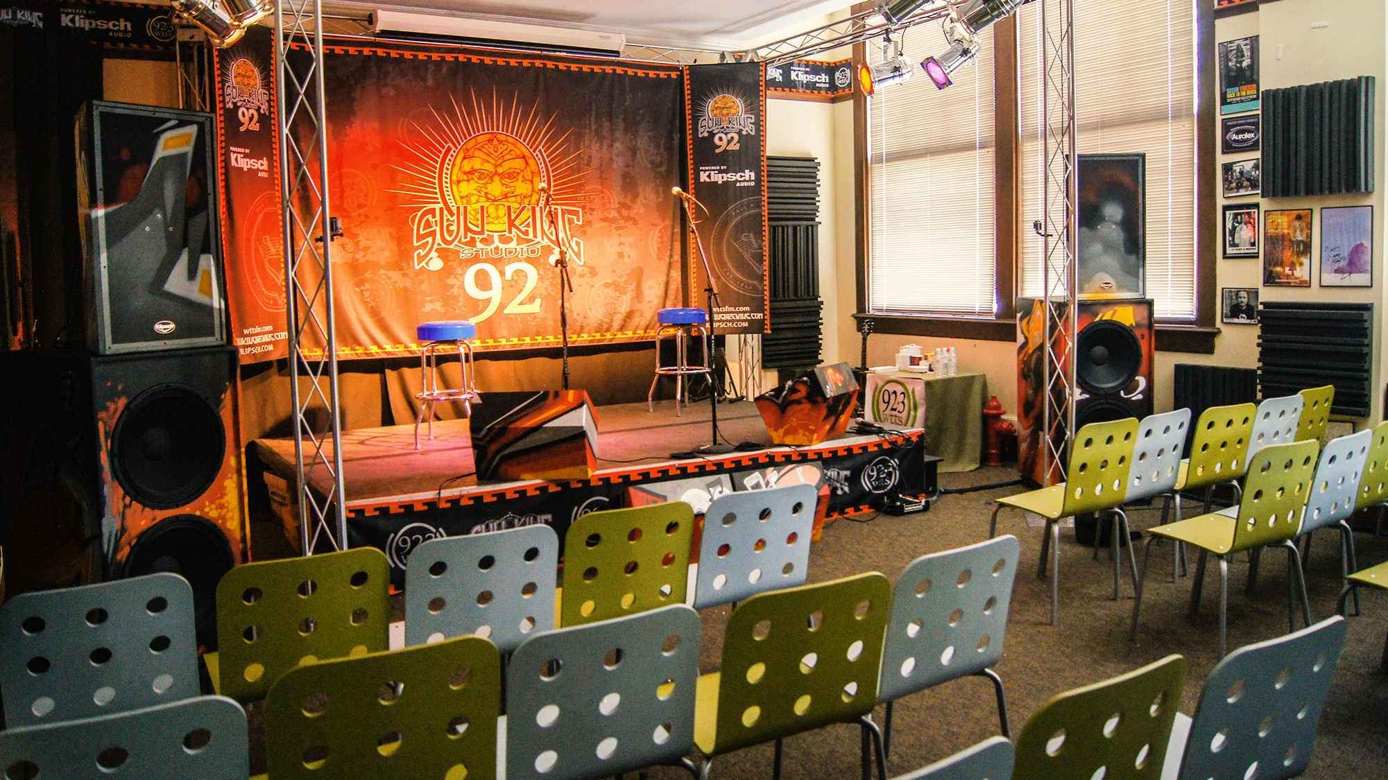 Sun King Studio 92 Powered by Klipsch Audio