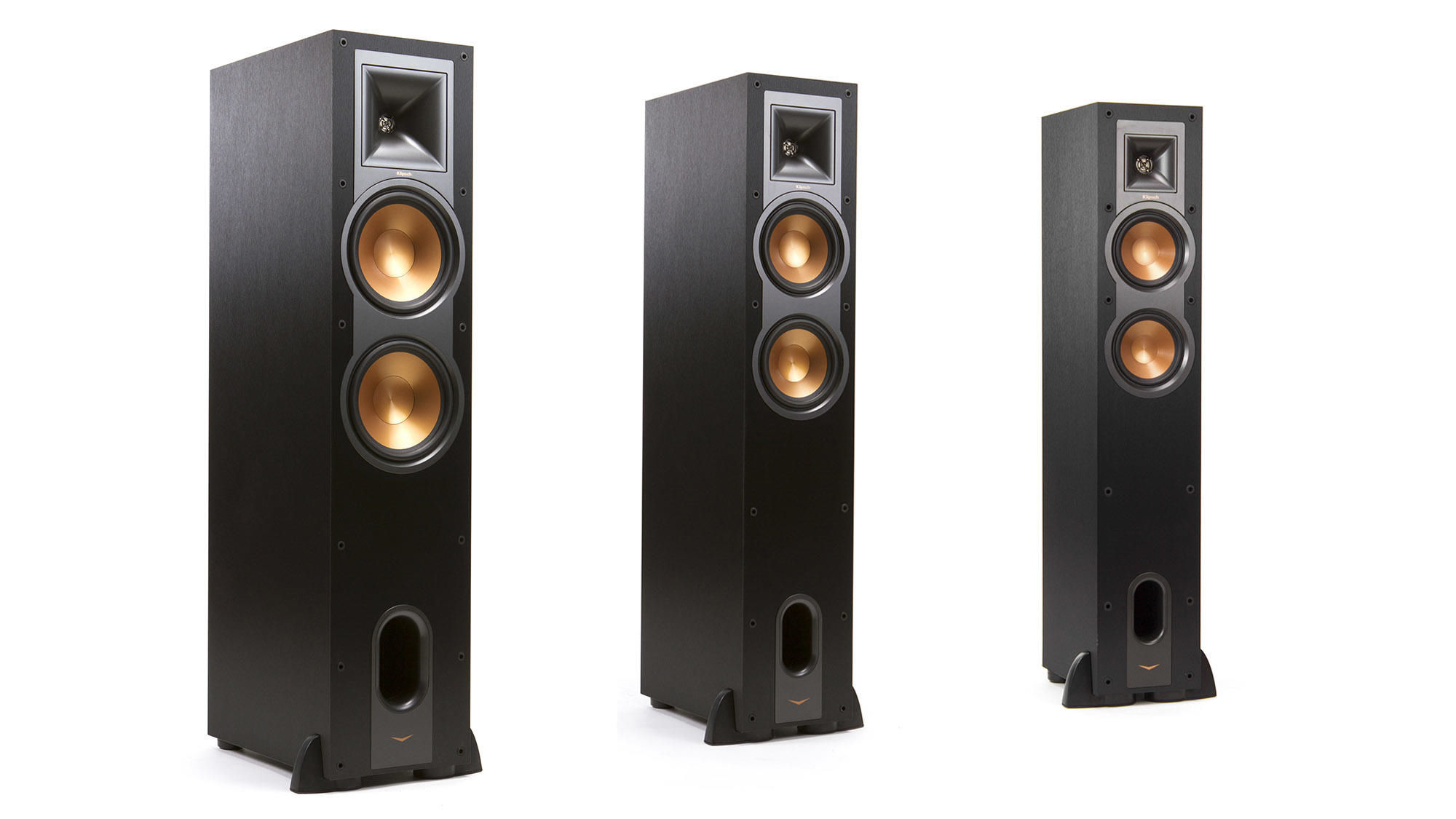 floor top floors walnut speakers tower klipsch rp