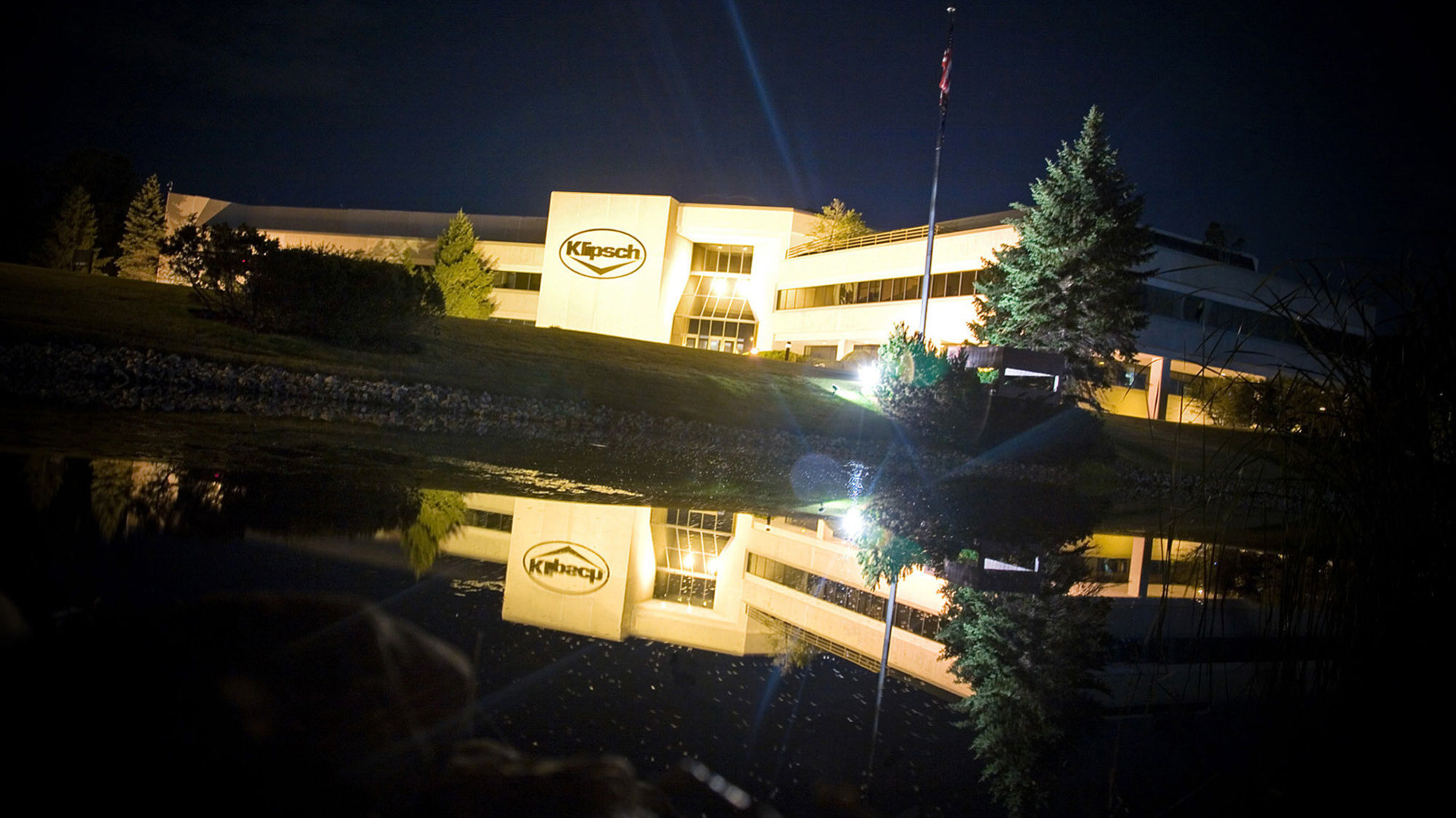 Klipsch Hq Indianapolis At Night 2000x1125