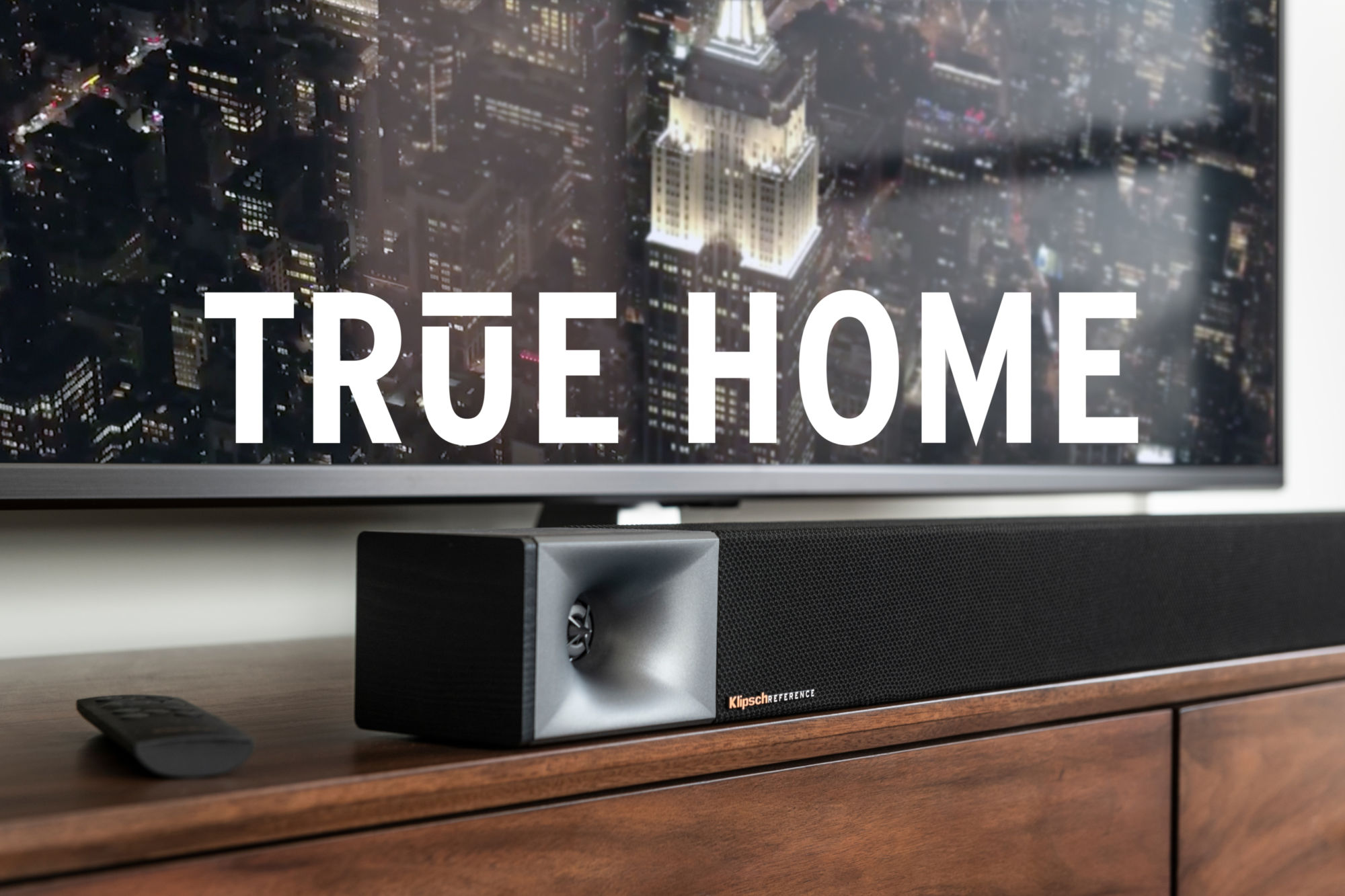 True Home Bar 40 pod TV