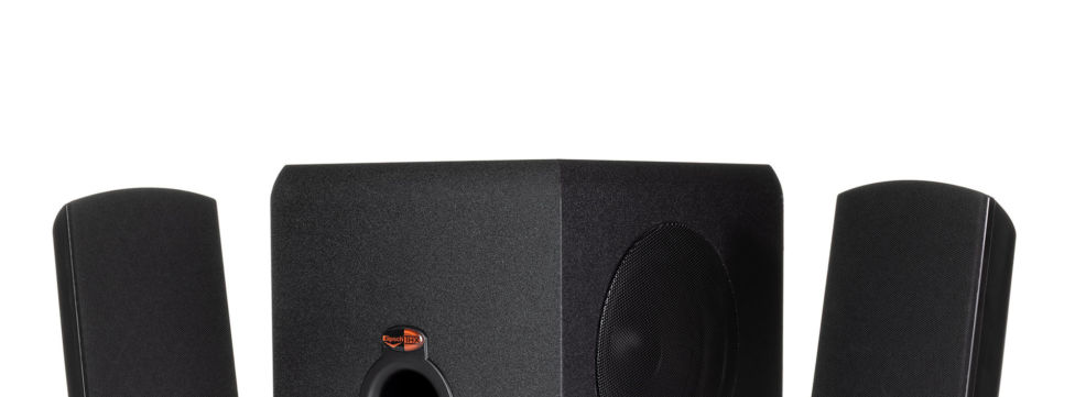 The Klipsch ProMedia THX® Certified 2.1 Computer Speaker