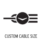 Custom Cable Size