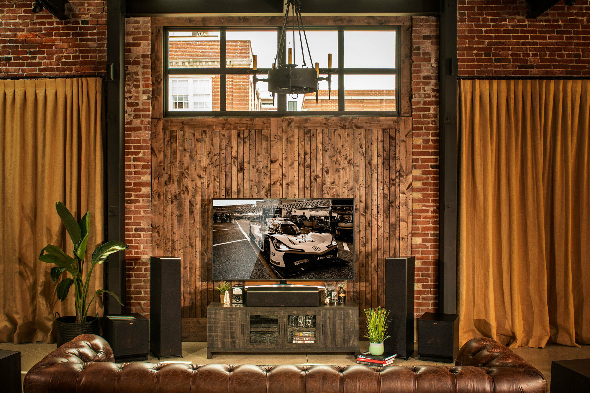 Klipsch Reference Premiere floorstanding speakers and subwoofer