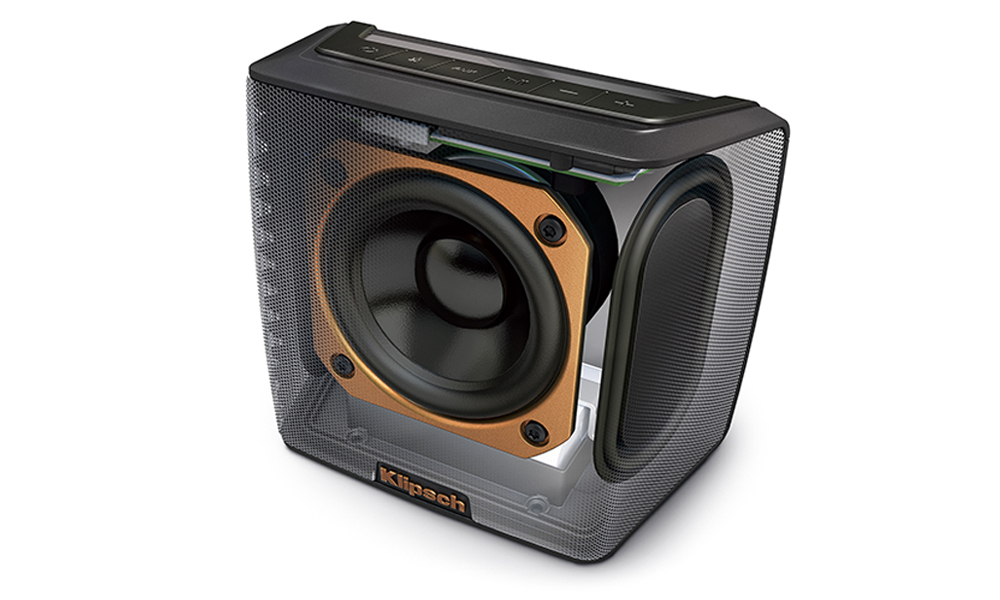 Groove Bluetooth Speaker Portable Amp Rechargeable Klipsch