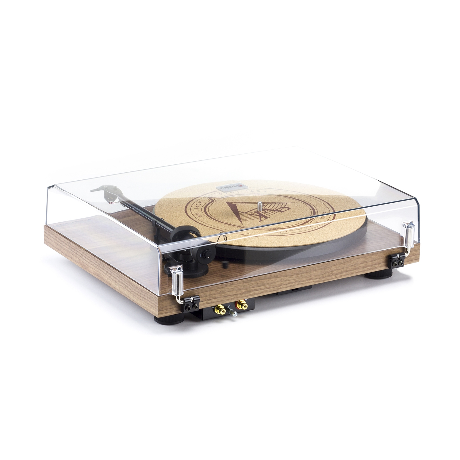 Klipsch Debut Carbon Walnut Turntable | Klipsch