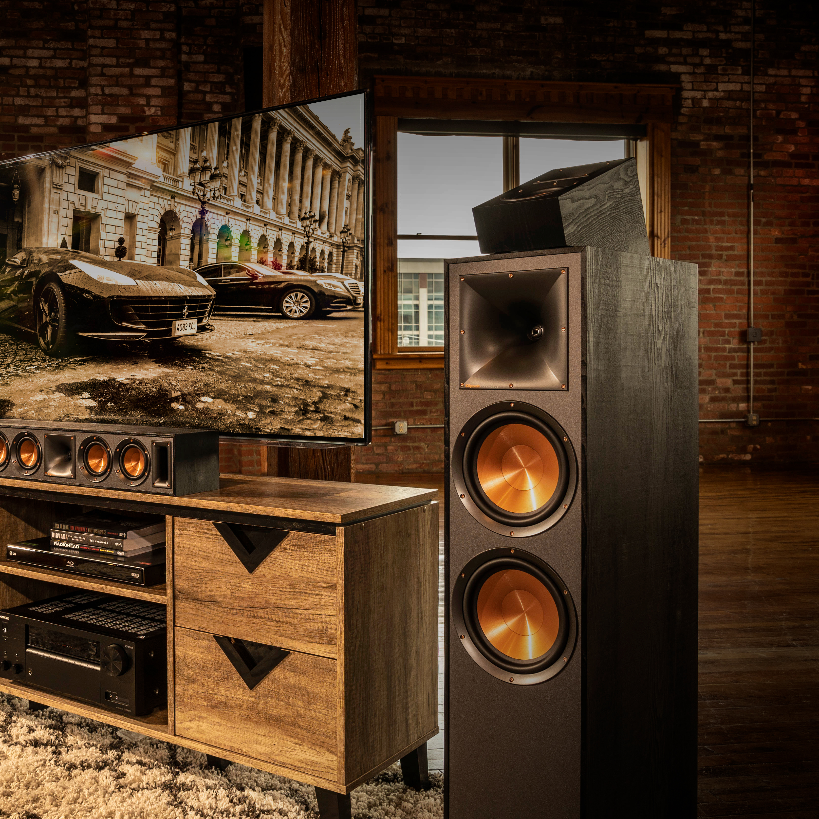 R 41sa Dolby Atmos Elevation Surround Speaker Klipsch