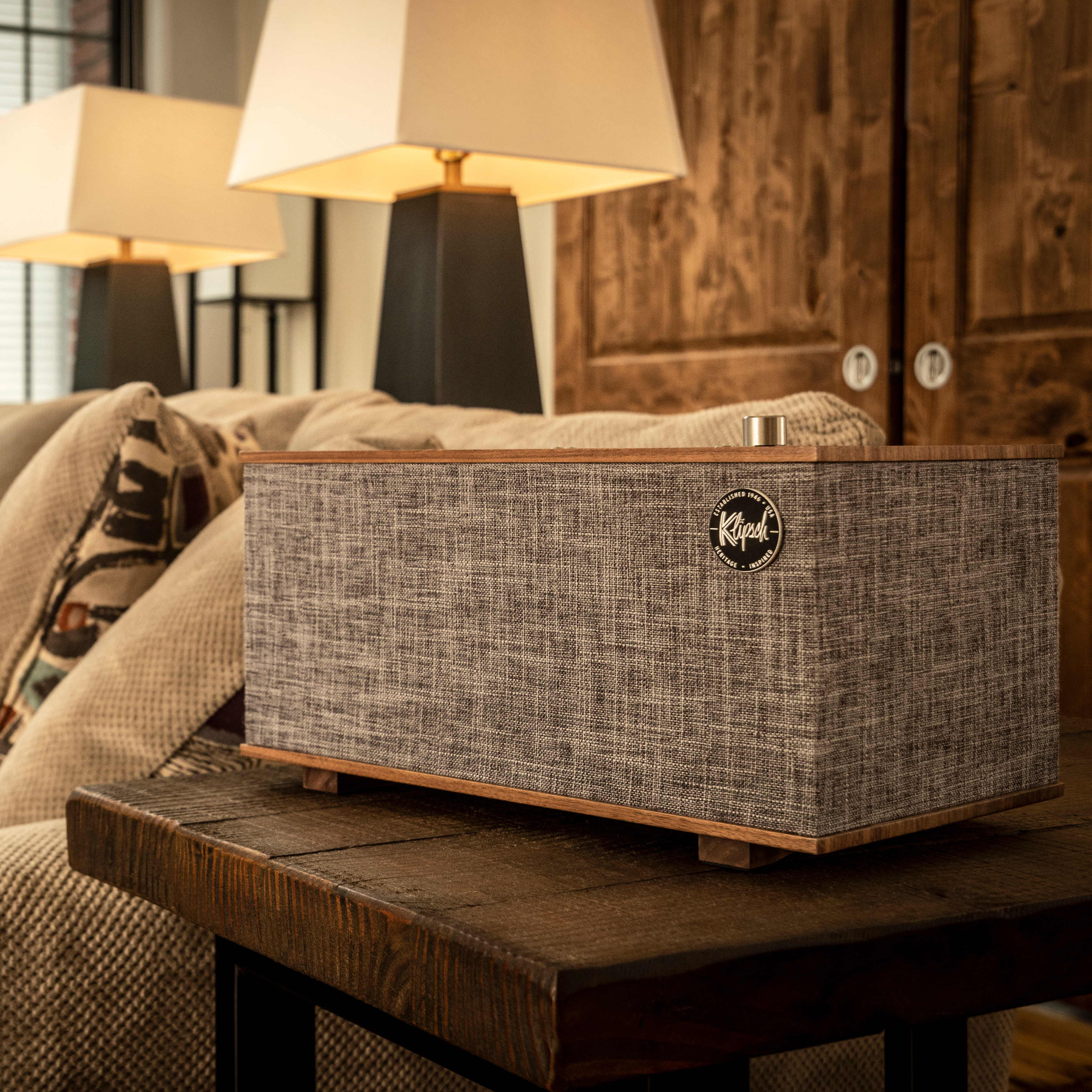 THE THREE with Google Assistant | Klipsch