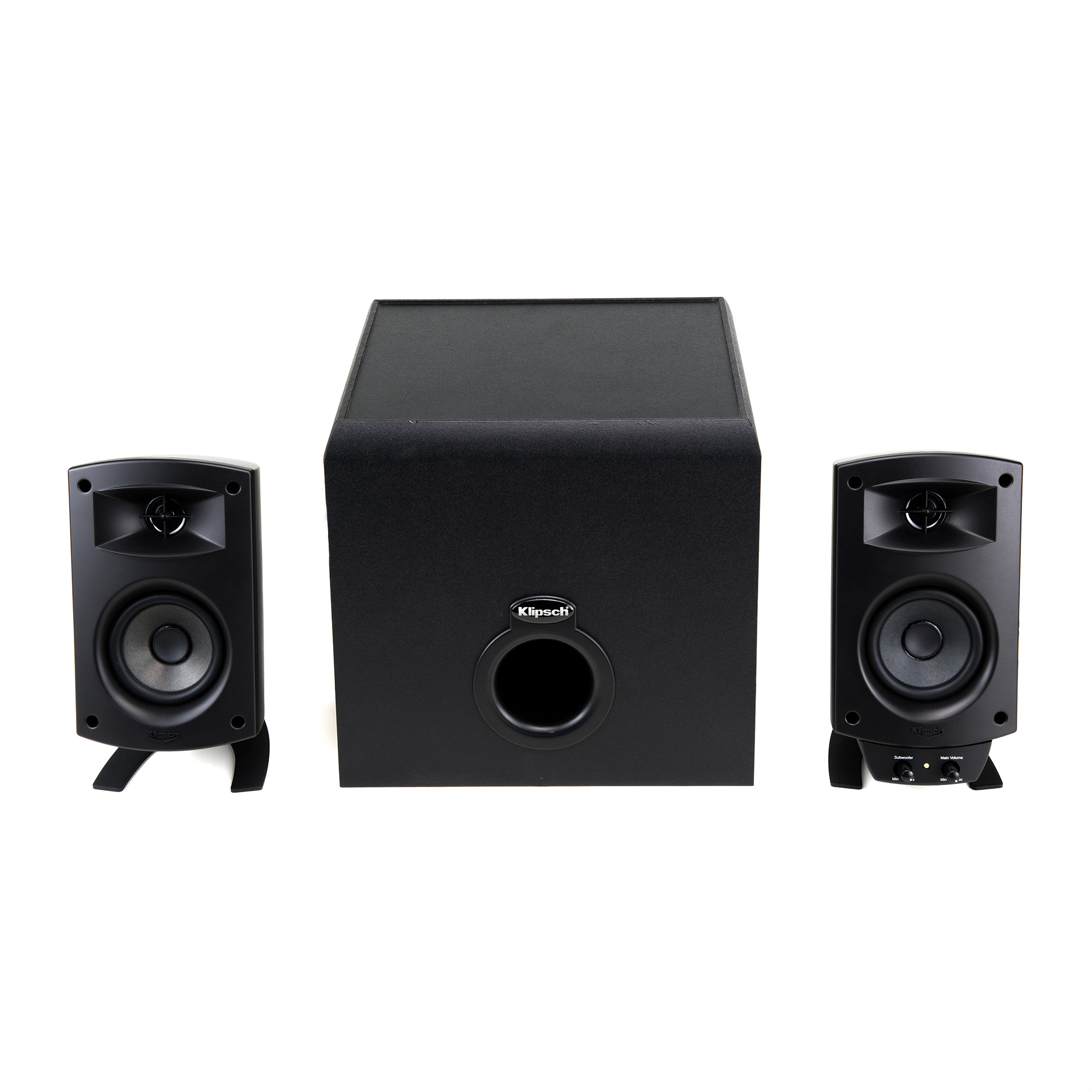 promedia 2 1 bluetooth computer speakers klipsch