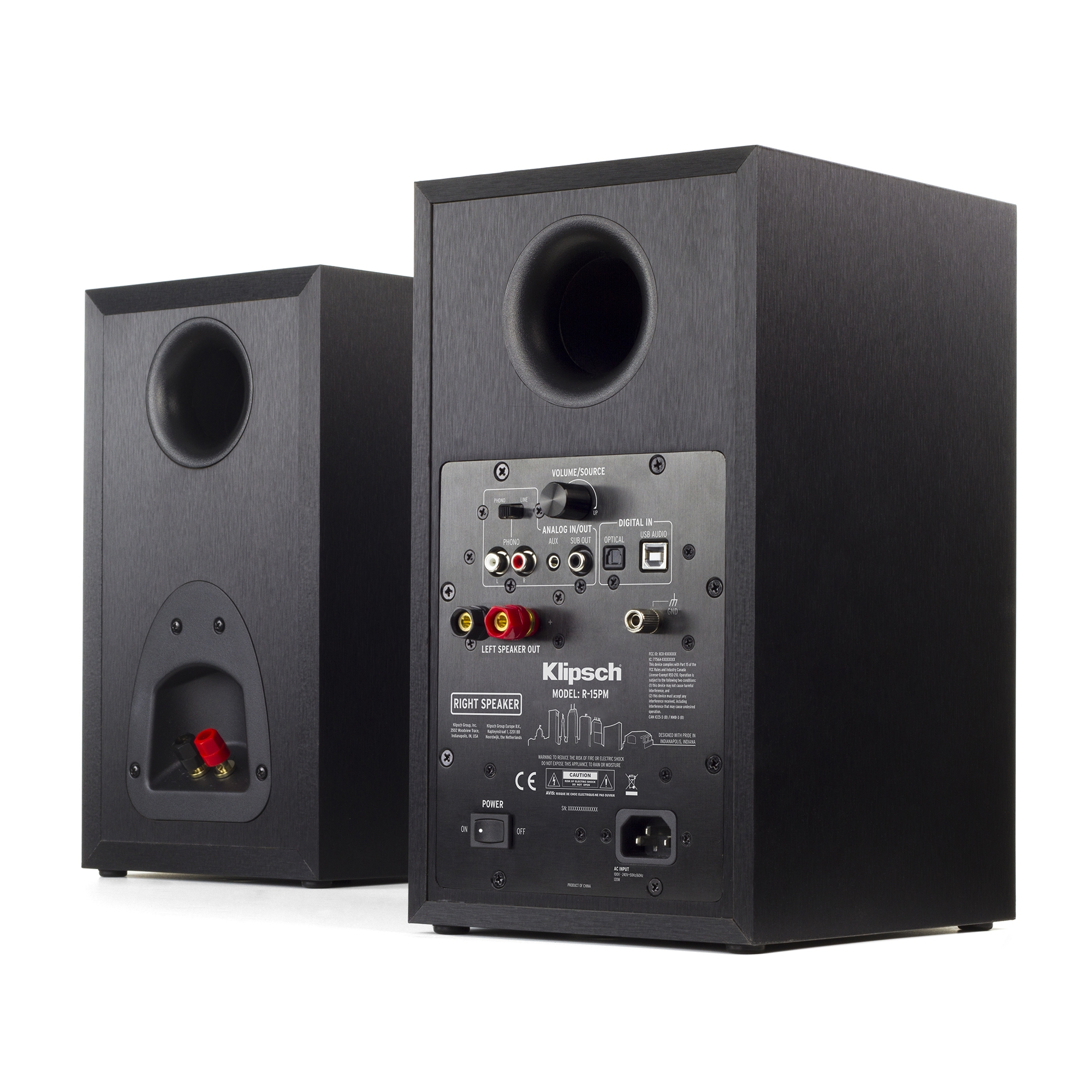 R 15pm Powered Turntable System Klipsch