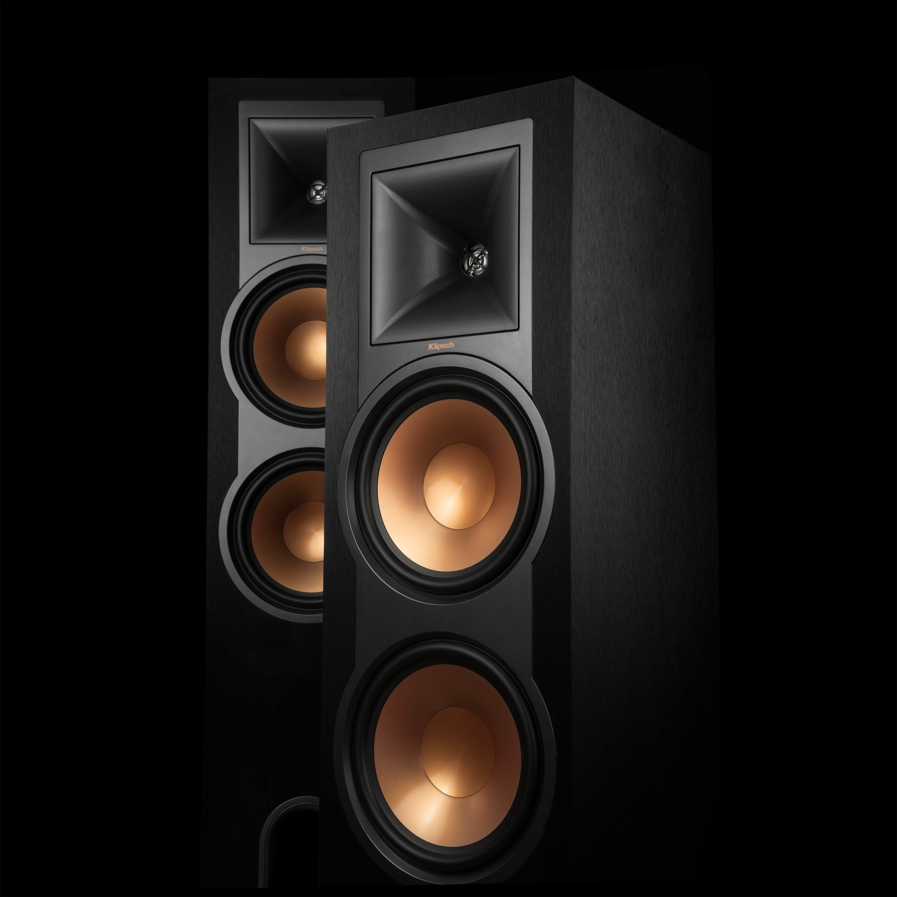 R 28pf Powered Floorstanding Speakers Klipsch