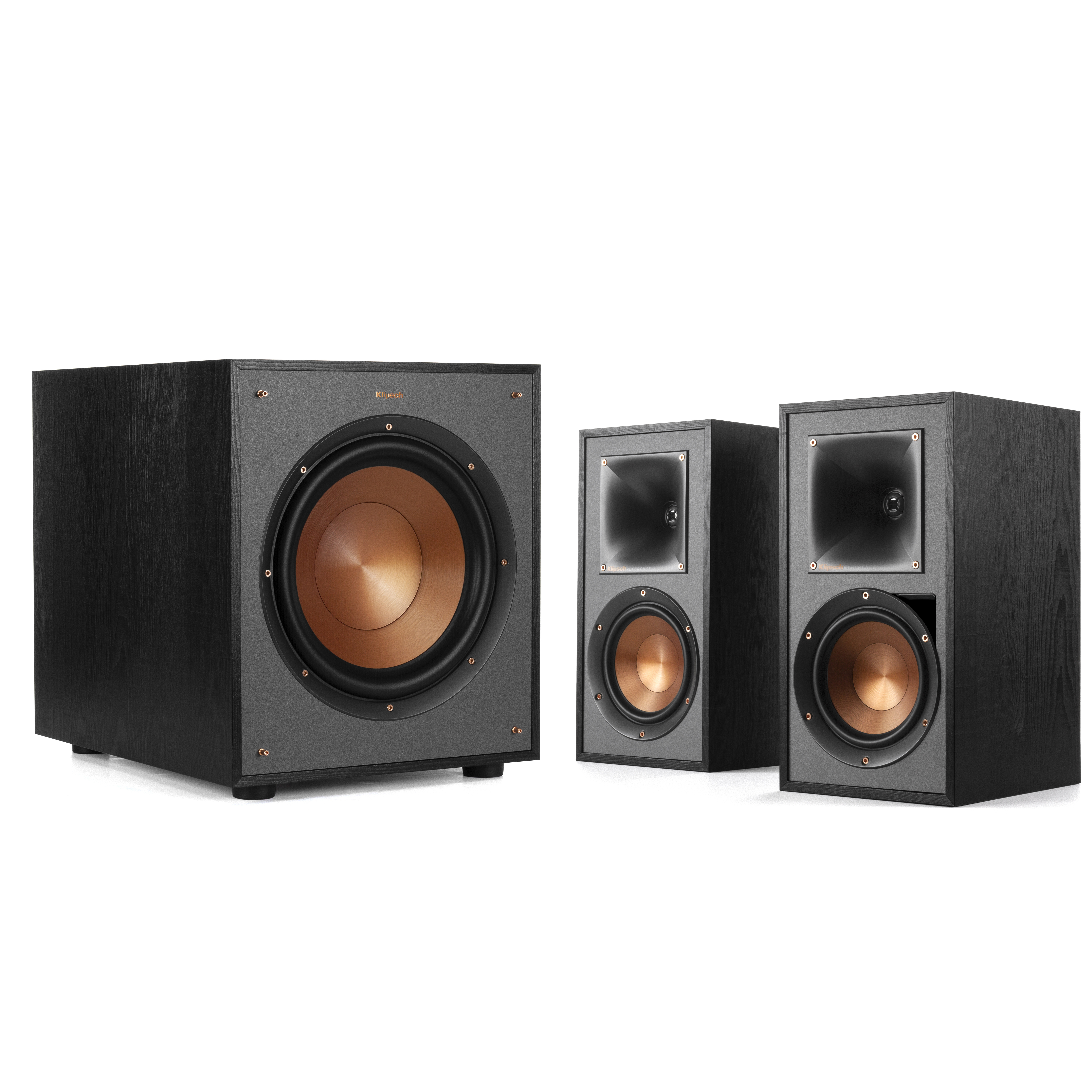 R-51PM + R-100SW 2.1 Speaker Package | Klipsch