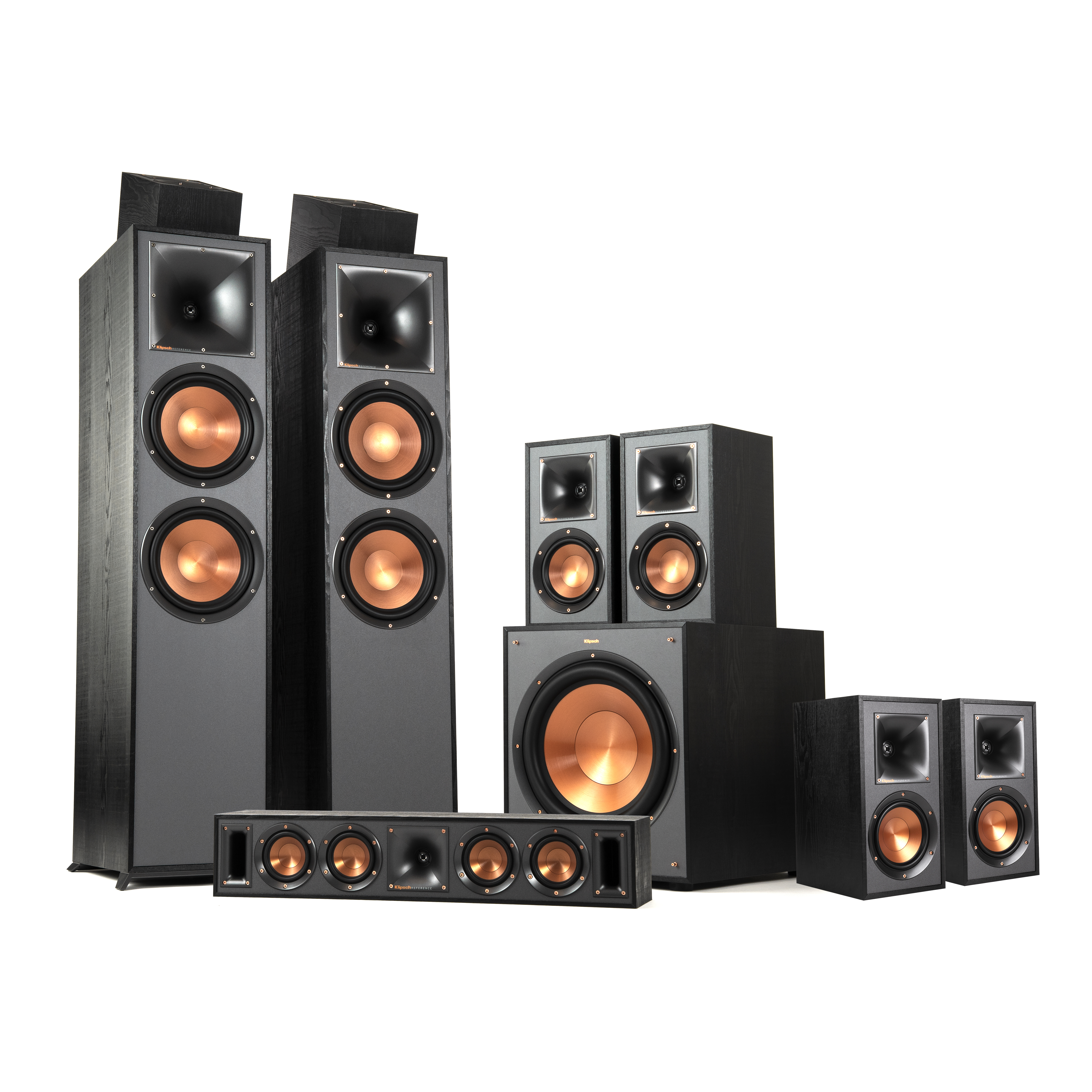 r 820f 7 1 2 dolby atmos home theater system klipsch. Black Bedroom Furniture Sets. Home Design Ideas
