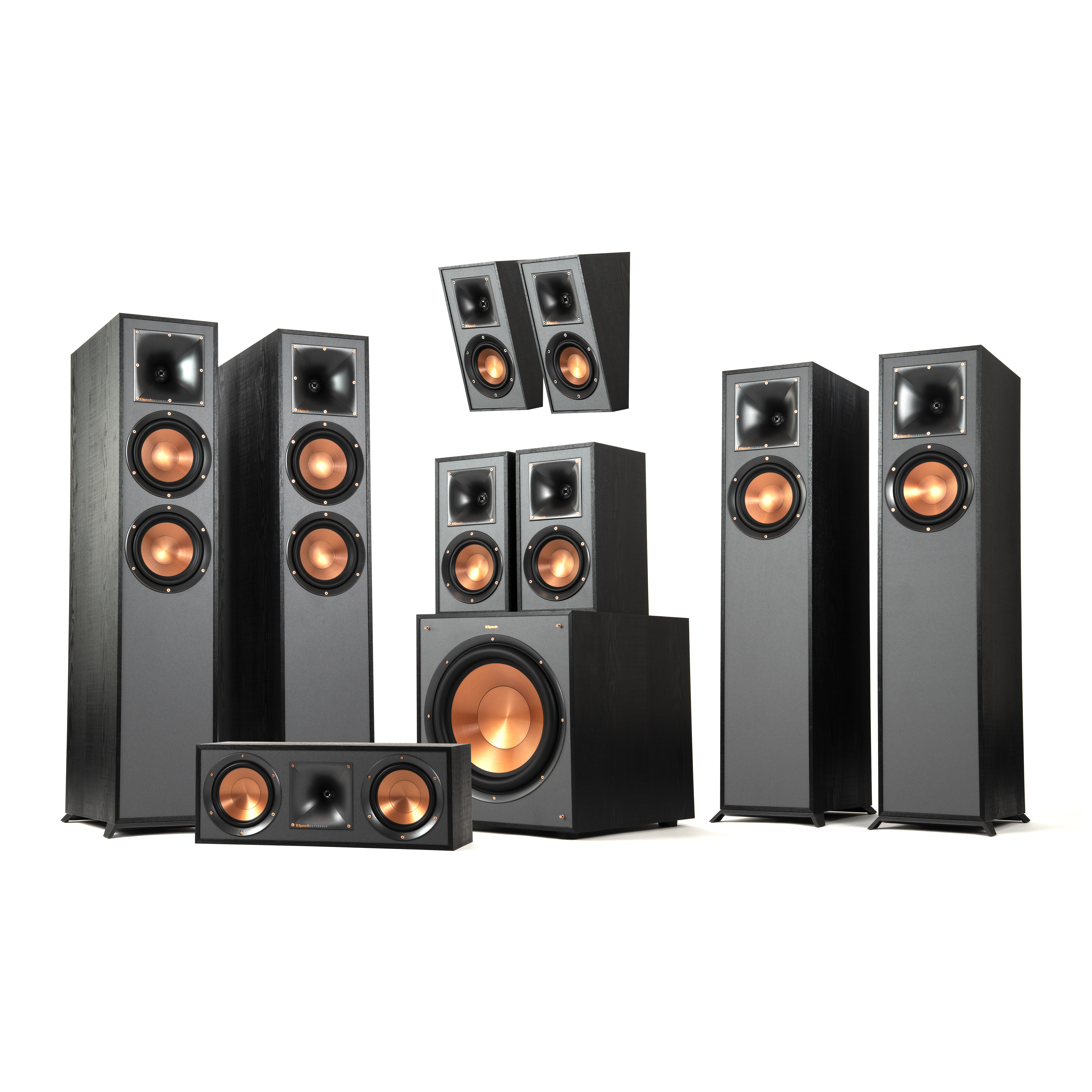 r 625fa 7 1 4 dolby atmos home theater system klipsch. Black Bedroom Furniture Sets. Home Design Ideas