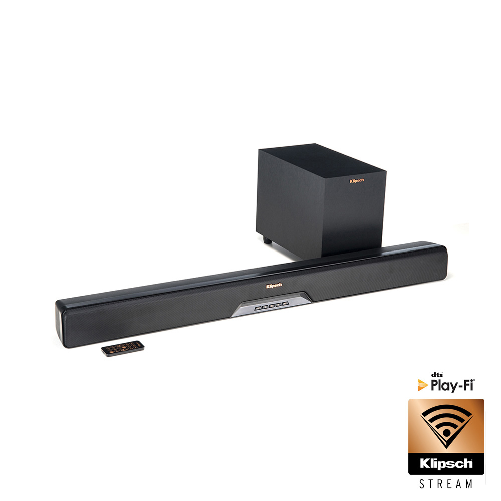 RSB-8 Sound Bar + Wireless Subwoofer | Klipsch