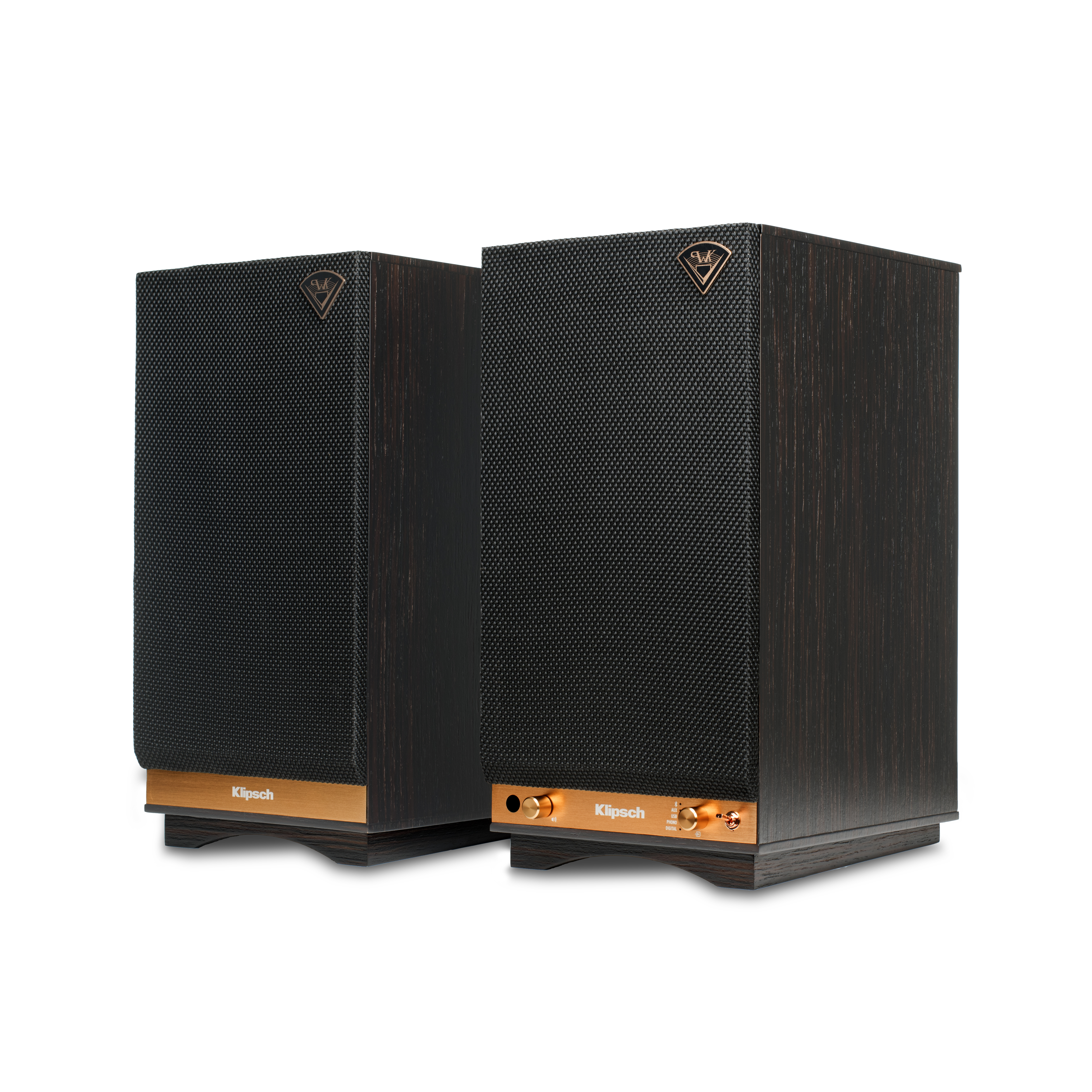 The Sixes Powered Bookshelf Speakers Klipsch Usb Current Booster Power Stereo Computer Speaker
