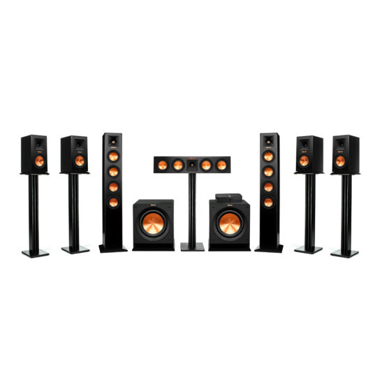 Reference Premiere HD Wireless 7.2 Tower-Lautsprechersystem