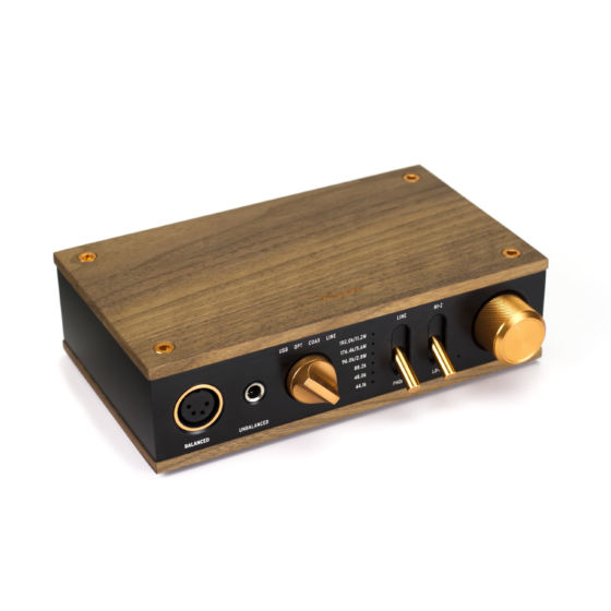 Heritage Headphone Amplifier Front