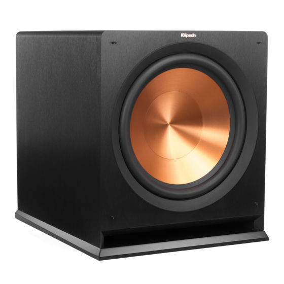 reference series powered subwoofers klipsch 12-inch hoagie r 115 sw angle