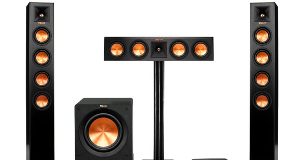 syst me de hd sans fil tours 3 1 actives reference premier klipsch. Black Bedroom Furniture Sets. Home Design Ideas