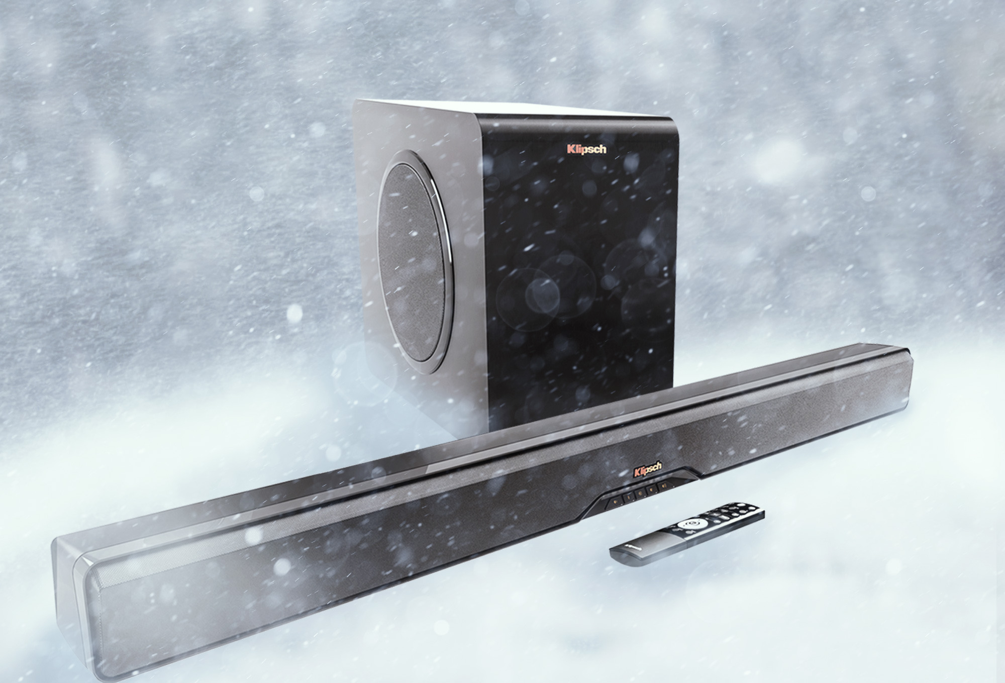 Klipsch Pota Sound Bar Snow