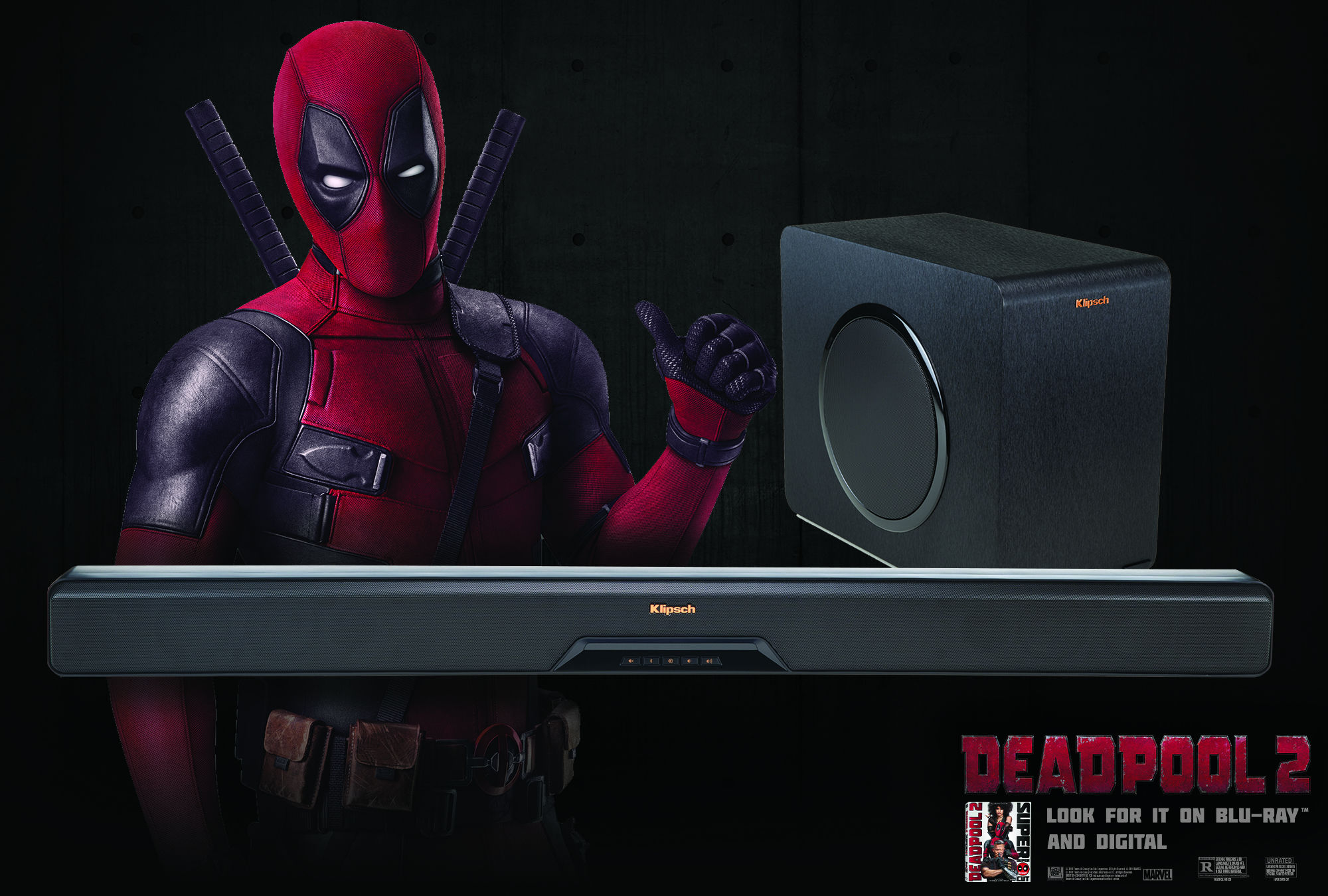 B Deadpool 2 Soundbar