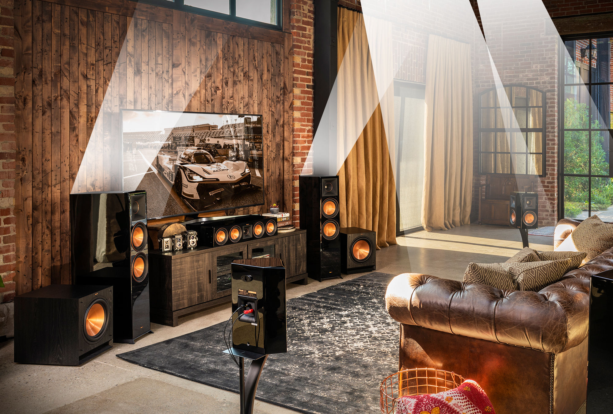 Rp 500sa Dolby Atmos Elevation Surround Speaker Klipsch