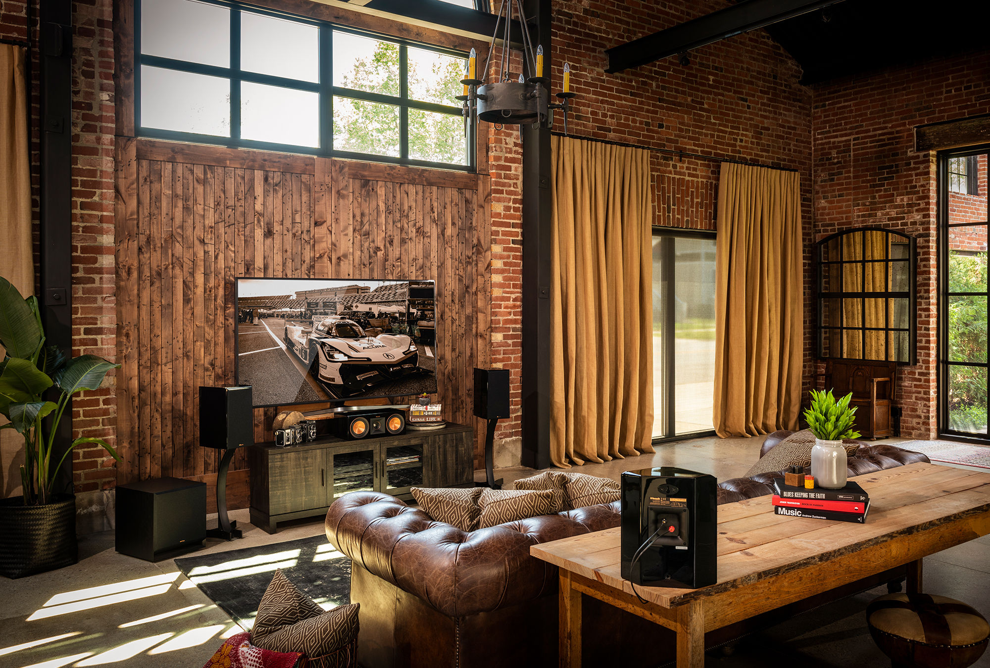 Klipsch Reference Premiere sound system in a home