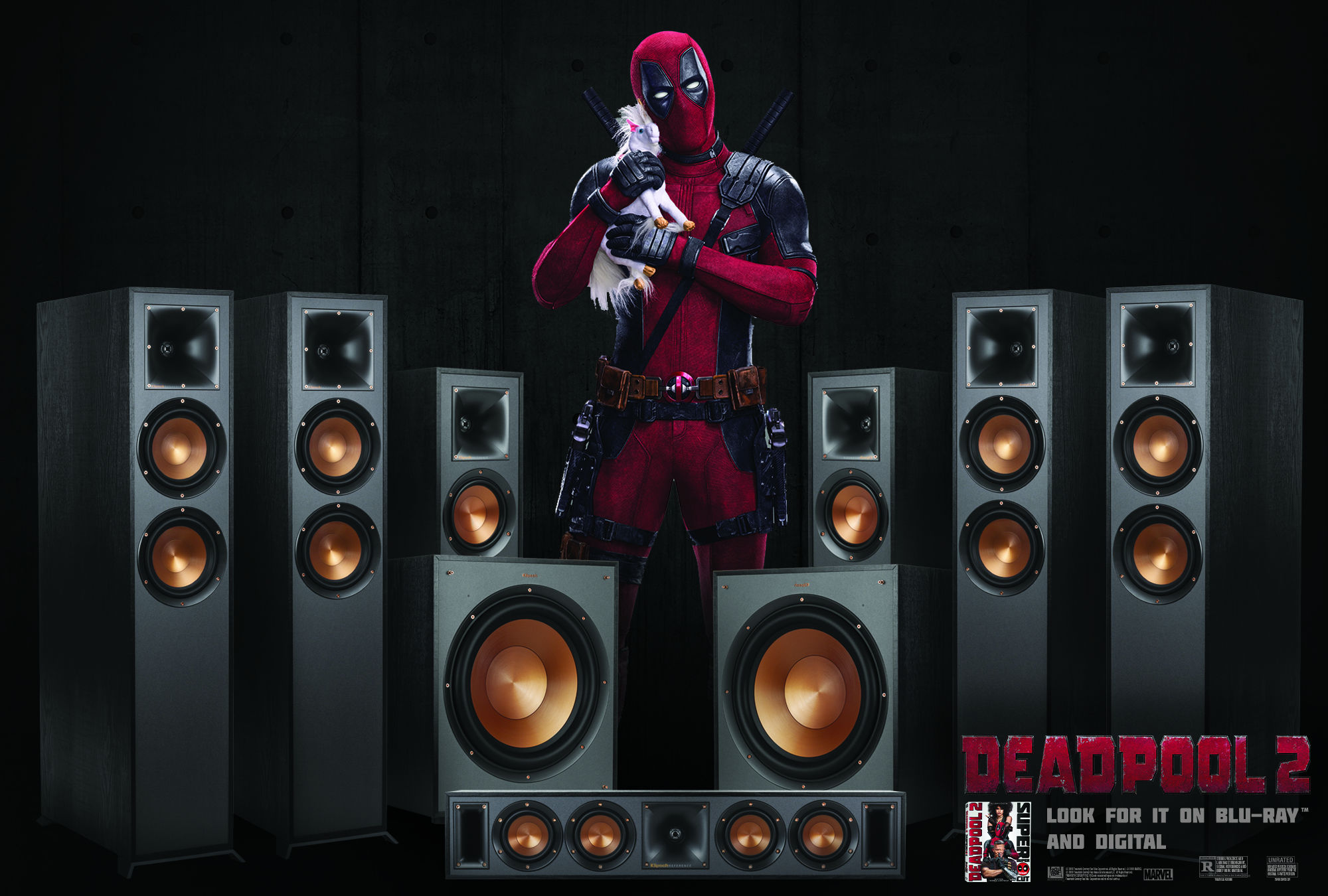 Klipsch Deadpool 2 speaker package