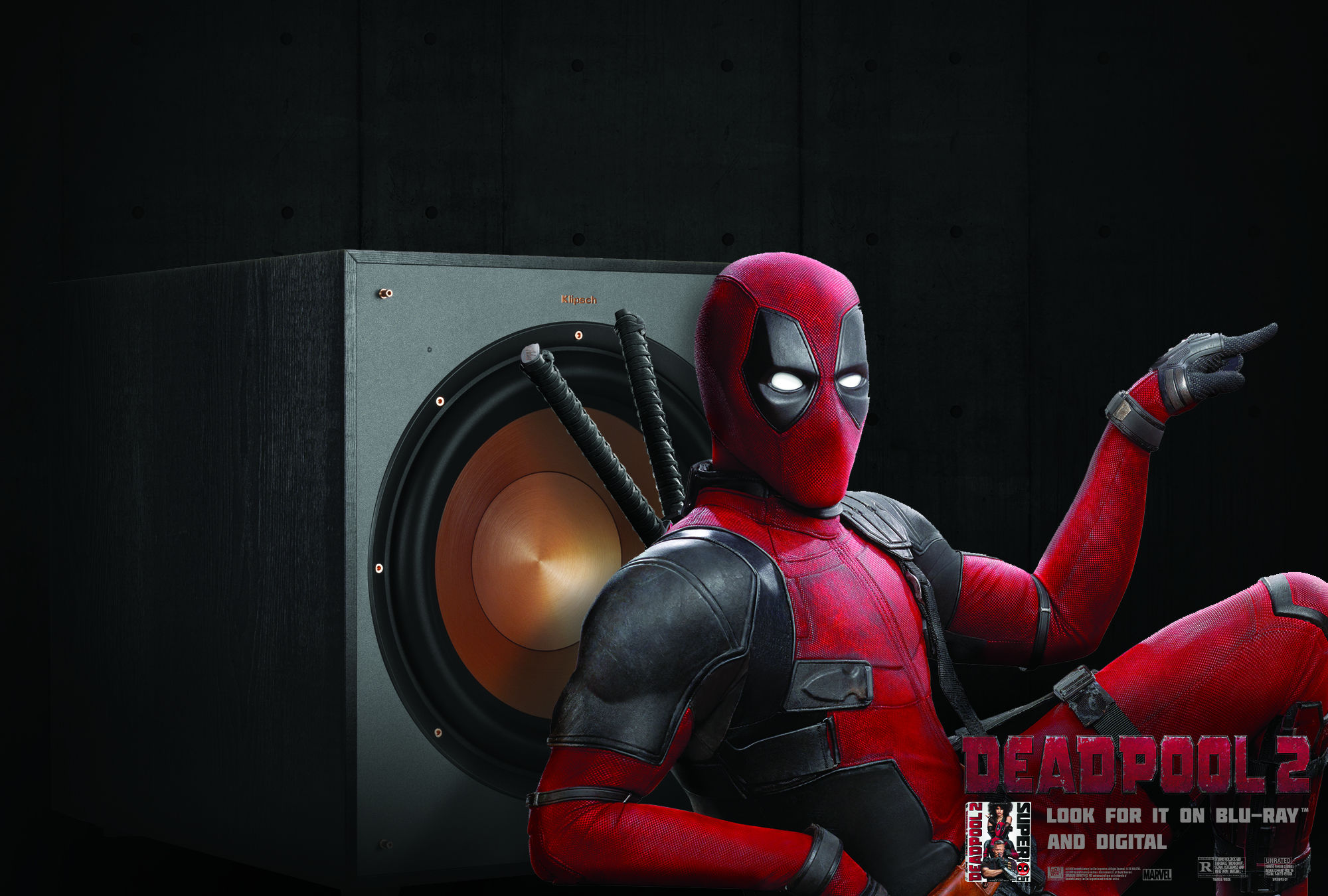 Klipsch Deadpool 2 subwoofer