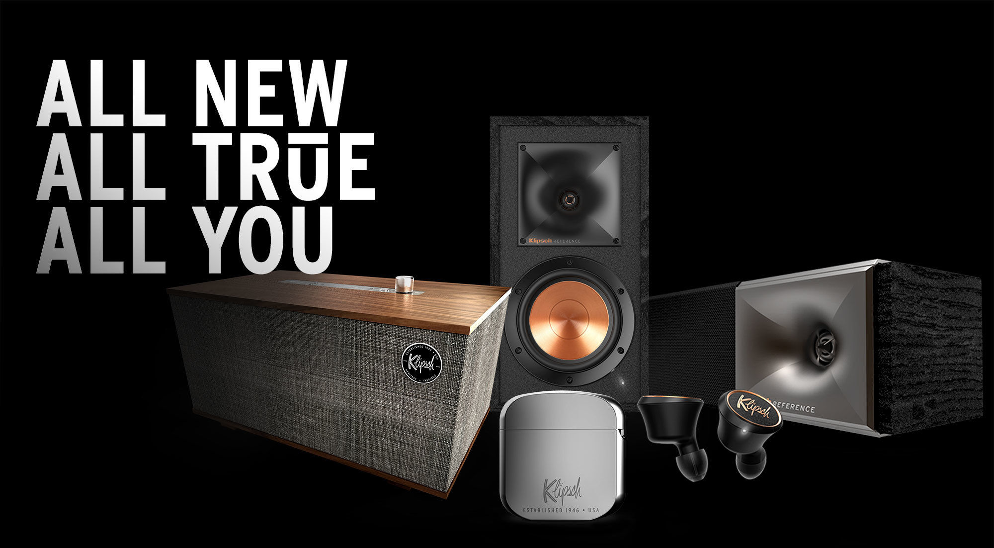 Klipsch Speakers Product Range