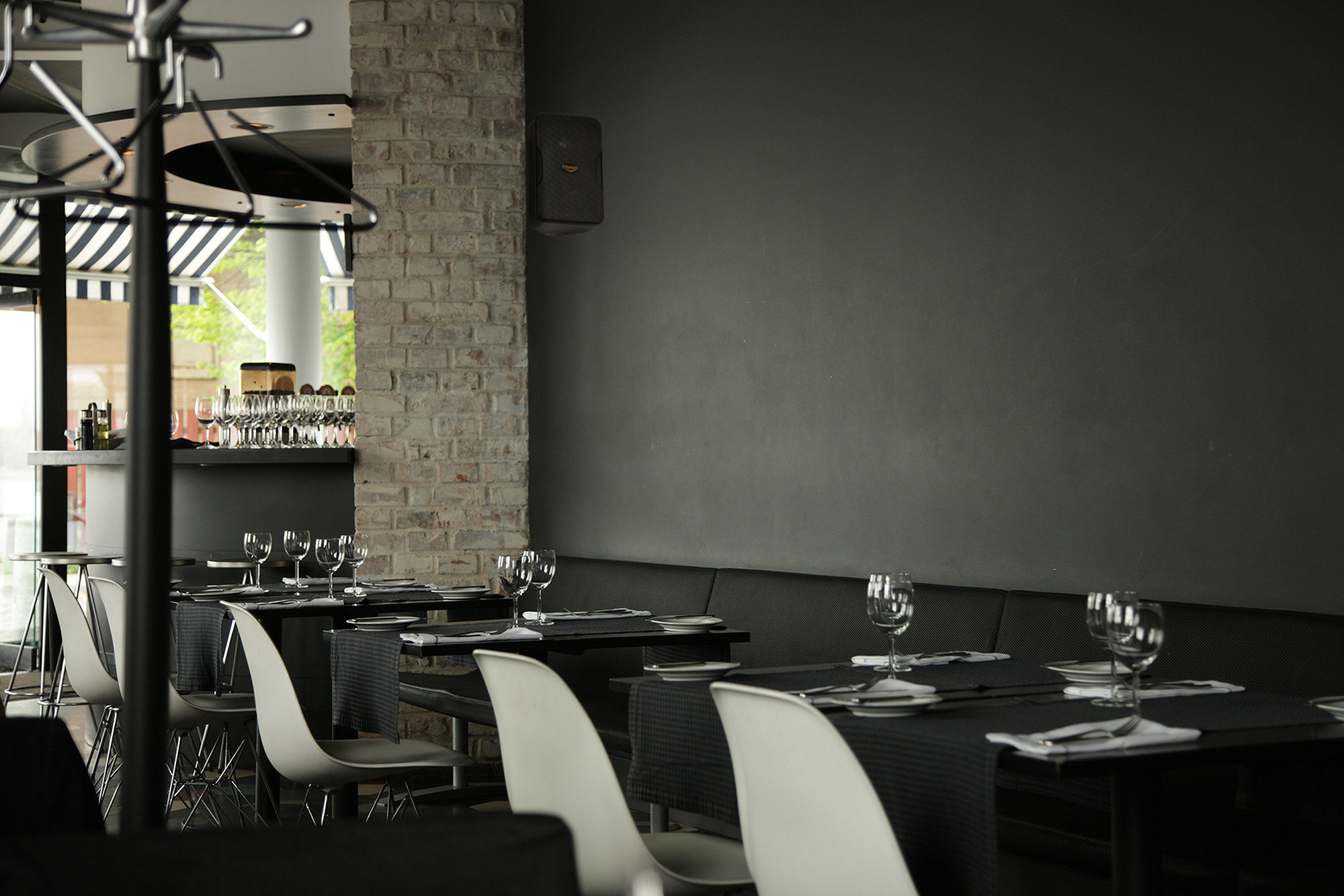 Restaurant with Klipsch Custom Installation speaker