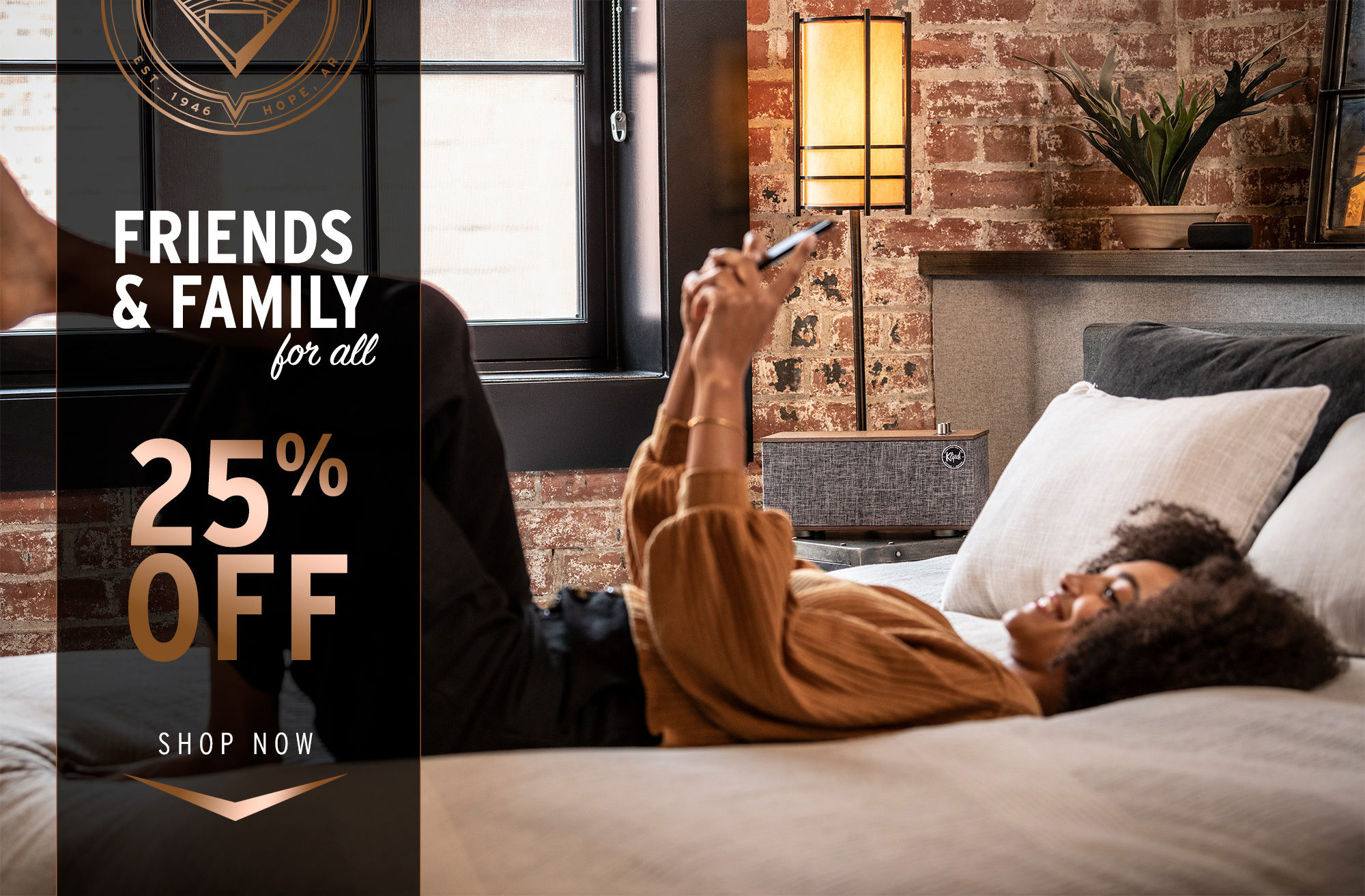 Friends and Family Landing Page Klipsch2020