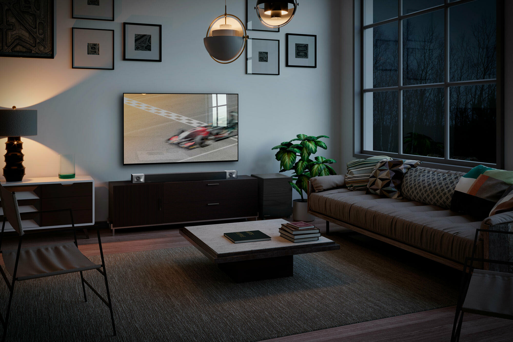 Klipsch Cinema 400 best sound bar in living room