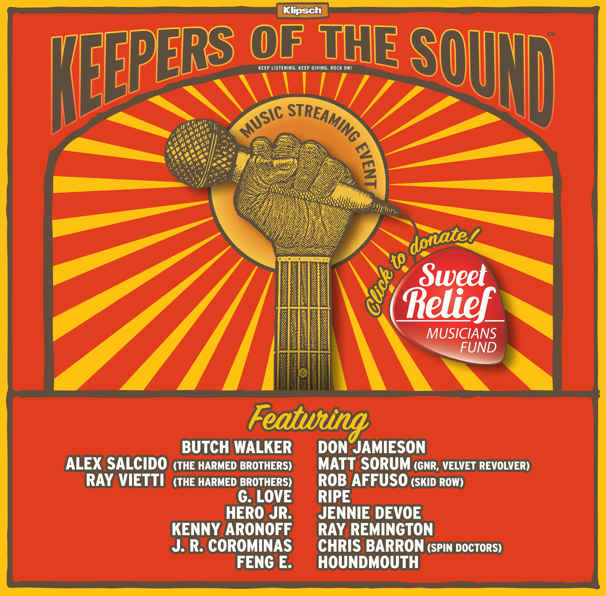 Klipsch Keepers of the Sound poster 2020