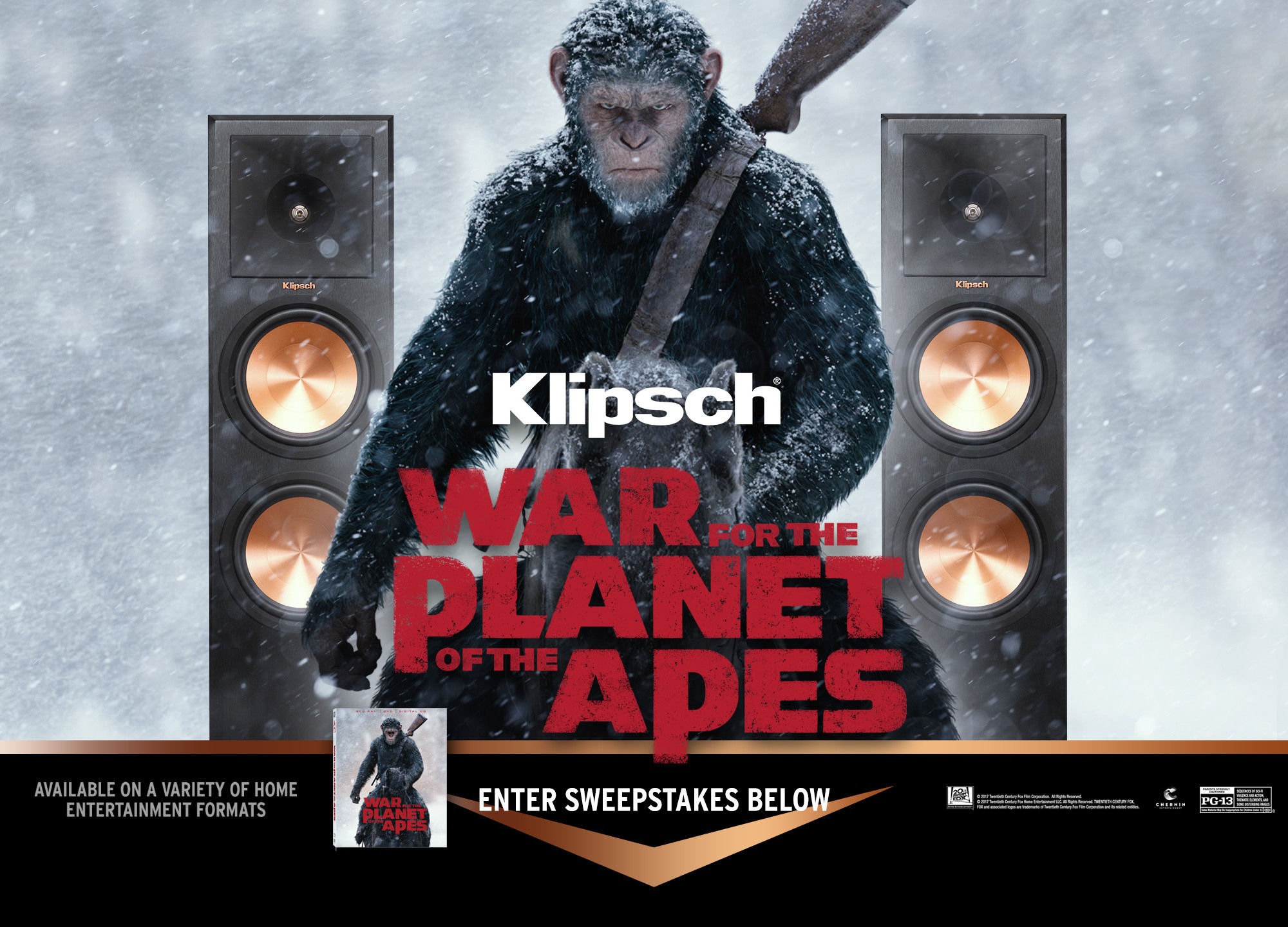 Planet of the Apes Sweepstakes
