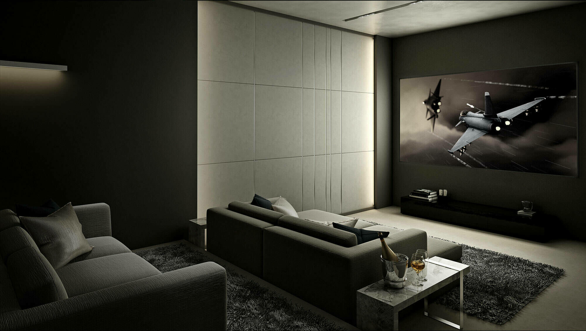 Klipsch Real Custom Cinema in Home Theater